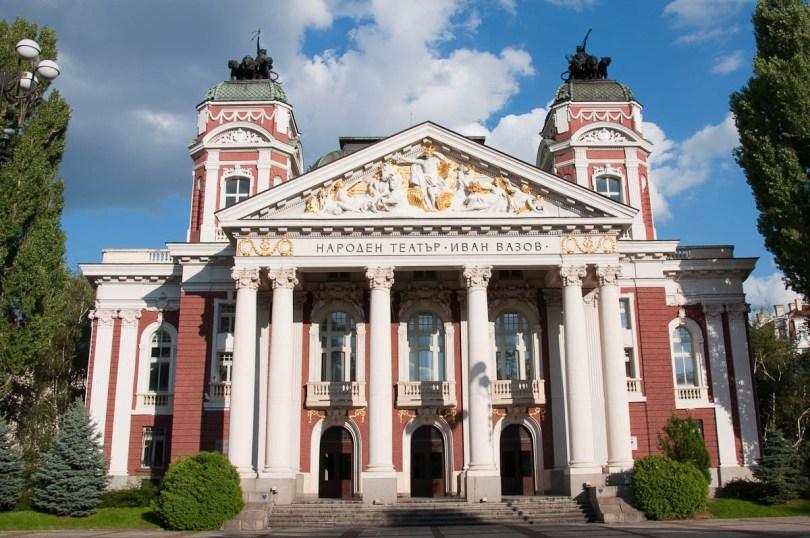 The National Theatre, Sofia, Bulgaria - www.rossiwrites.com