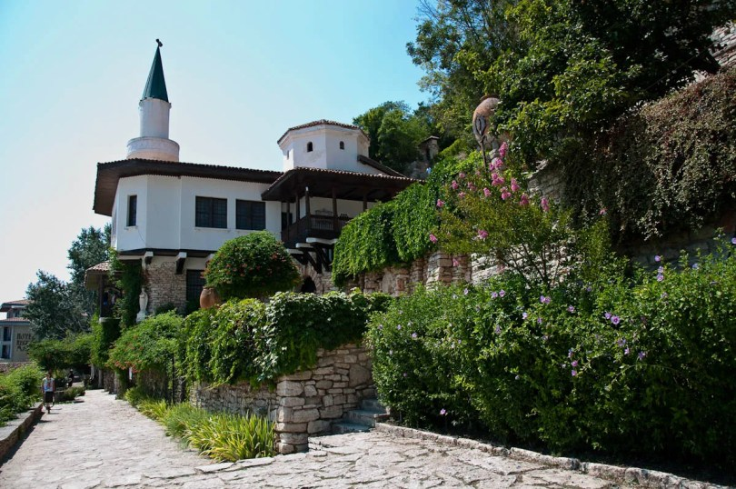 The Royal Palace 'The Quiet Nest', Balchik, Bulgaria - www.rossiwrites.com