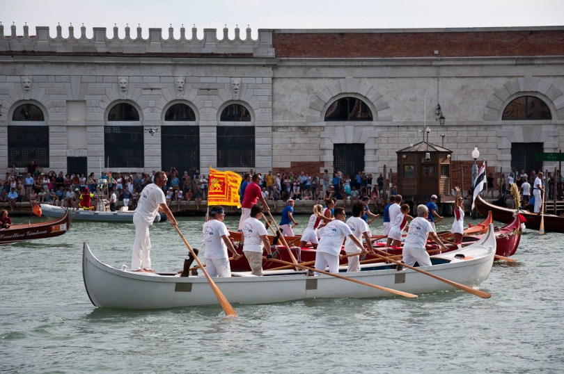 Boats taking part, Historical Regatta, Venice, Italy - www.rossiwrites.com