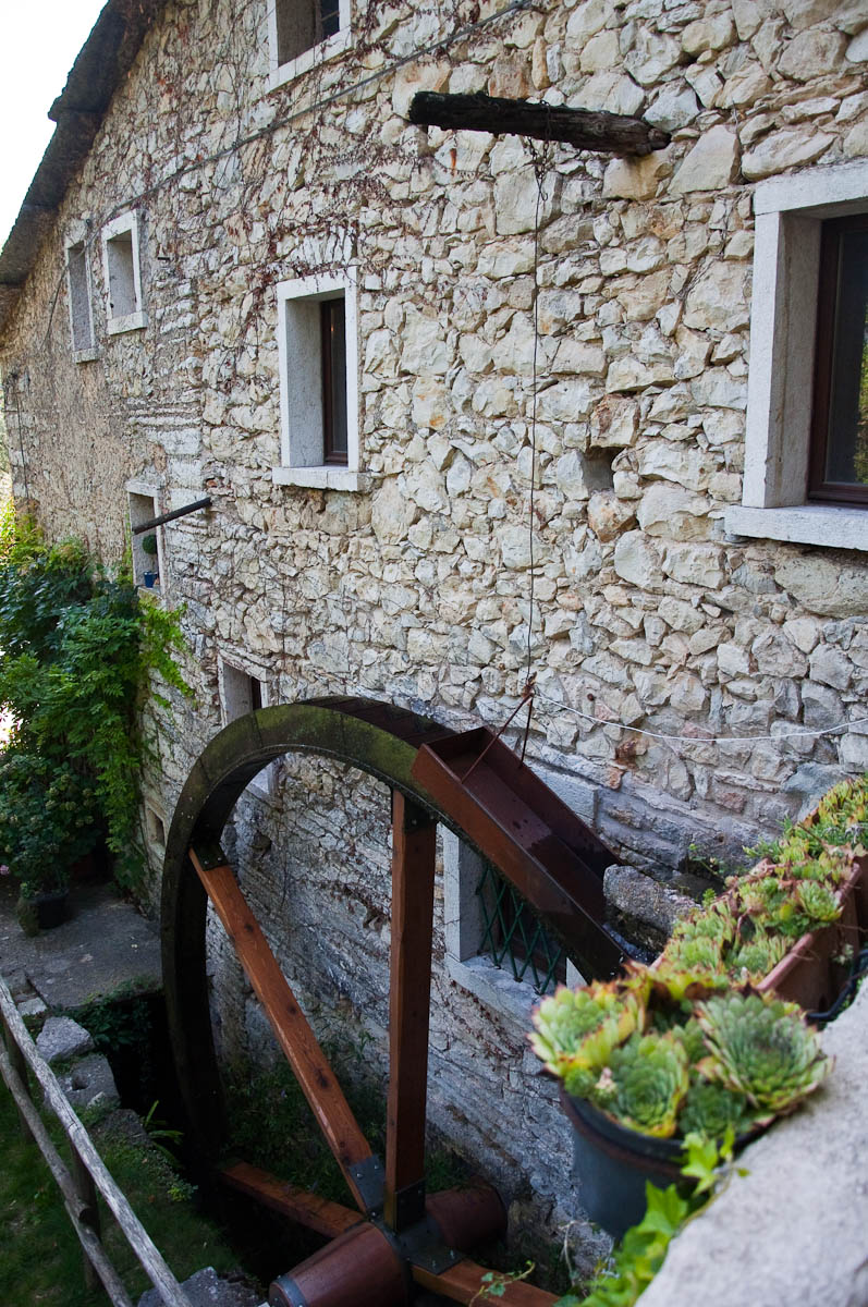 Veraghi's Mill, Molina, Province of Verona, Italy - www.rossiwrites.com