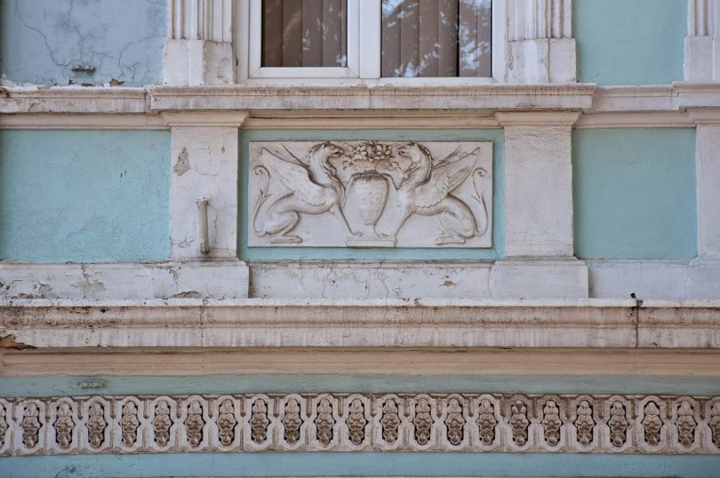 facade-ornamentation-dilapidated-light-blue-house-varna-bulgaria-www.rossiwrites.com