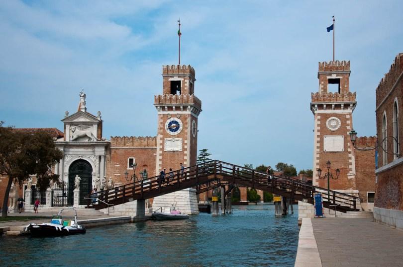 Arsenale's Porta Magna - Venice, Italy - www.rossiwrites.com