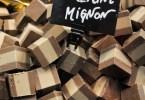 Cubes of cremino, Chocolate Festival, Piazza dei Signori - Vicenza, Veneto, Italy - www.rossiwrites.com
