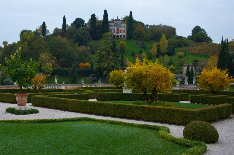 The Villa of the Armenians with a landscaped garden - Asolo, Veneto, Italy - www.rossiwrites.com
