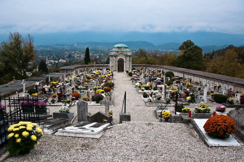 The cemetery - Asolo, Veneto, Italy - www.rossiwrites.com