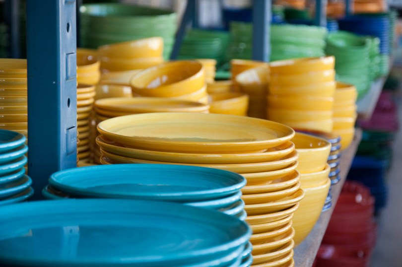 Colourful plates and bowls - Nove, Veneto, Italy - www.rossiwrites.com