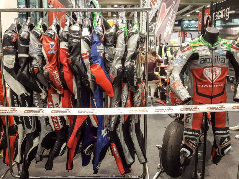 Motorcycle clothing - Verona Motor Bike Expo 2017, Italy - www.rossiwrites.com