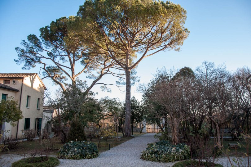 The garden of Antonio Canova's birthhouse - Possagno, Treviso, Veneto, Italy - www.rossiwrites.com