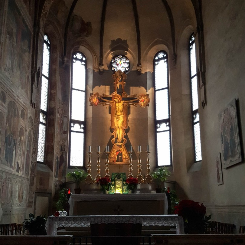 The main alter - Church of the Eremitani, Padua, Italy - www.rossiwrites.com