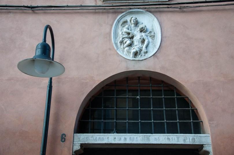 15th century Monte di Pieta Pawn Bank - Ravenna, Emilia Romagna, Italy - www.rossiwrites.com