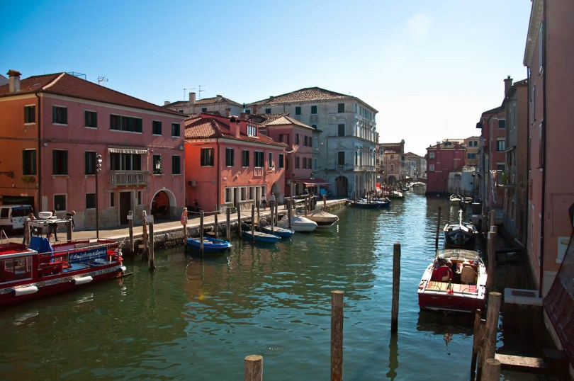 A canal with boats - Chioggia, Veneto, Italy - www.rossiwrites.com