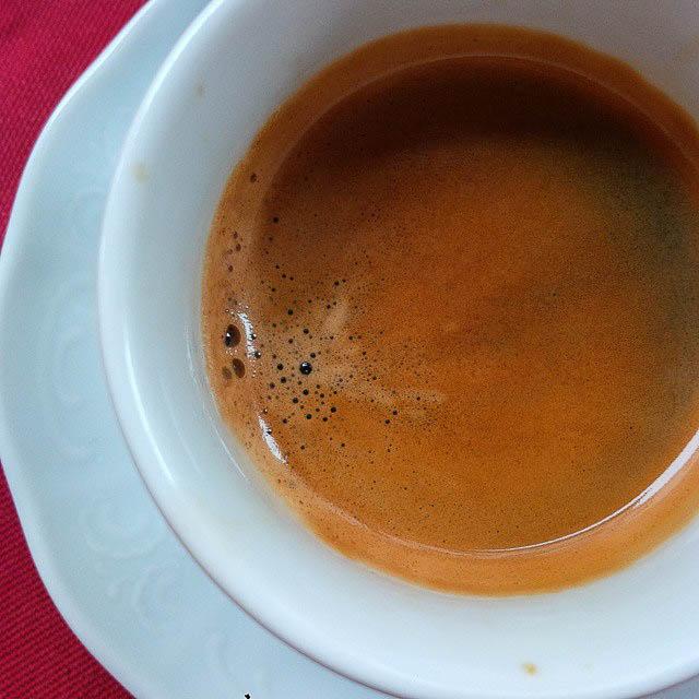 A cup of espresso - Vicenza, Veneto, Italy - www.rossiwrites.com