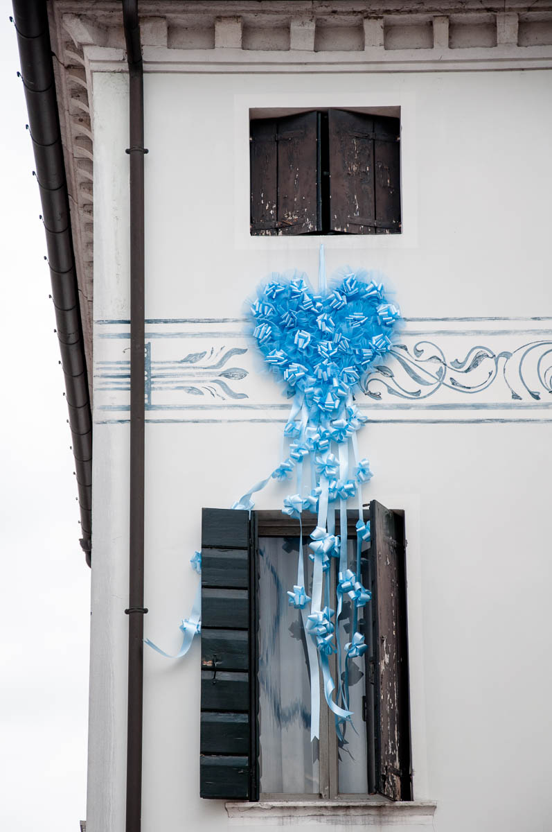 Celebrating the birth of a new baby boy - Noale, Veneto, Italy - www.rossiwrites.com