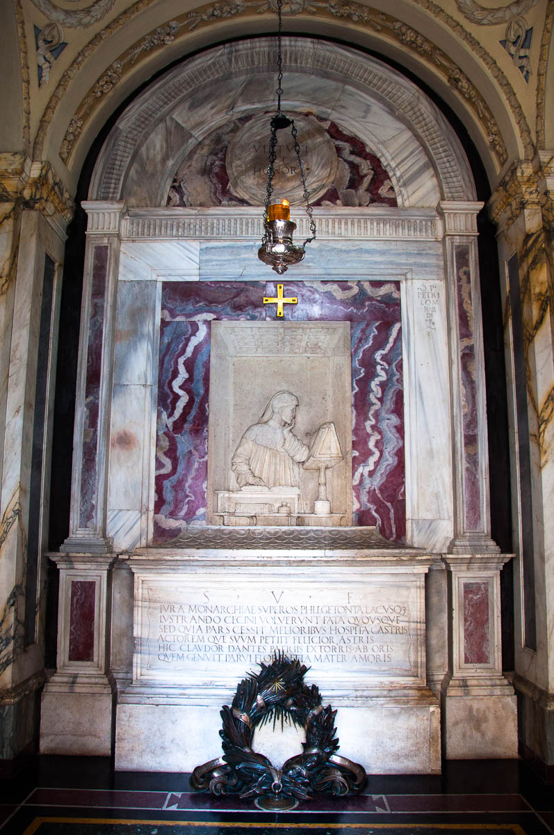 Dante's Tomb - Quadrarco di Braccioforte - Ravenna, Emilia Romagna, Italy - www.rossiwrites.com