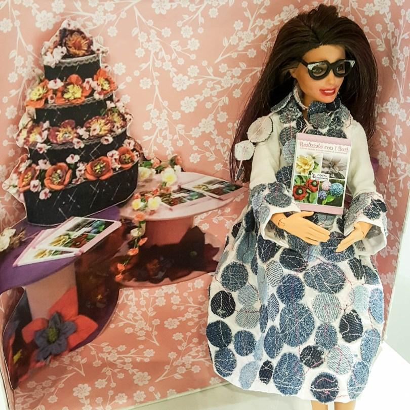 Maria Veneziano's mini-me doll - CreativeMamy - Abilmente Primavera 2017 - Vicenza, Italy - www.rossiwrites.com