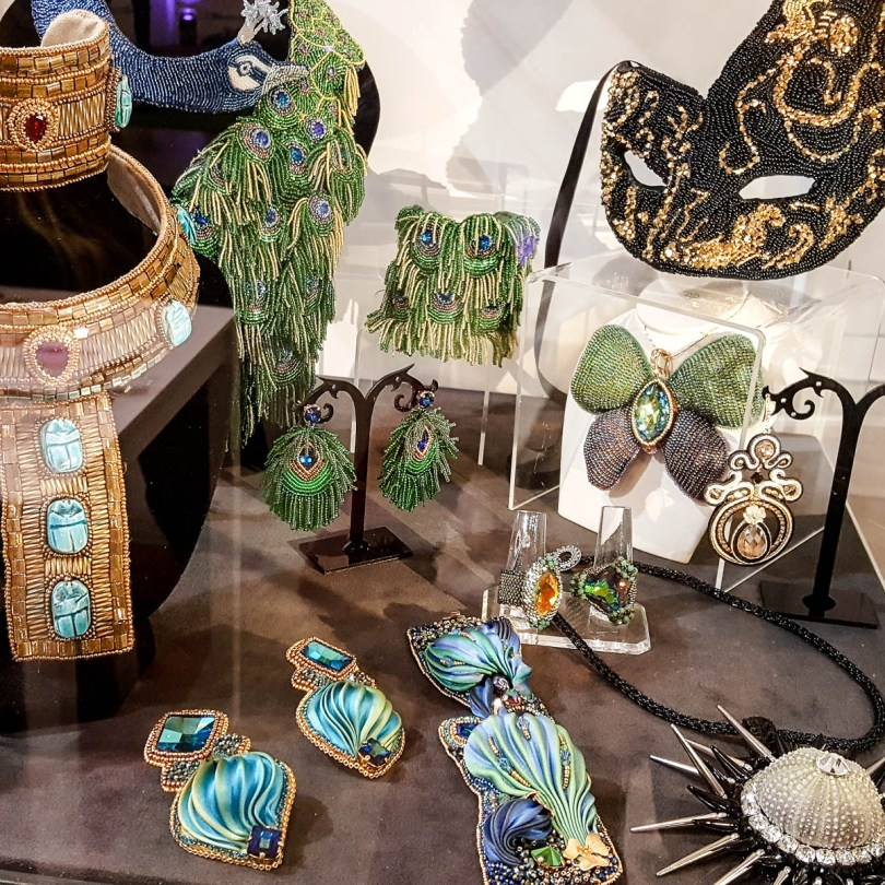 Monica Vinci's stunning jewellery - Abilmente Primavera 2017 - Vicenza, Italy - www.rossiwrites.com
