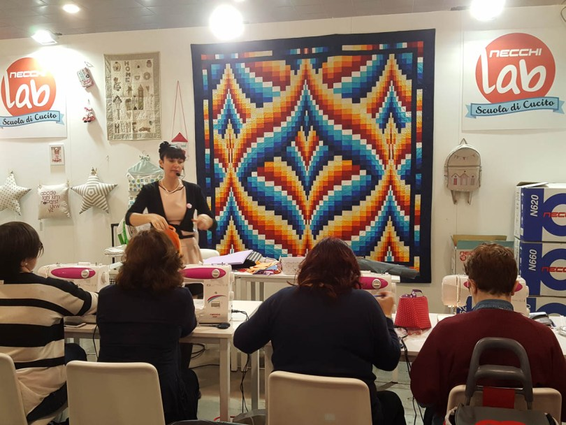 Sewing course in progress - Abilmente Primavera 2017 - Vicenza, Italy - www.rossiwrites.com