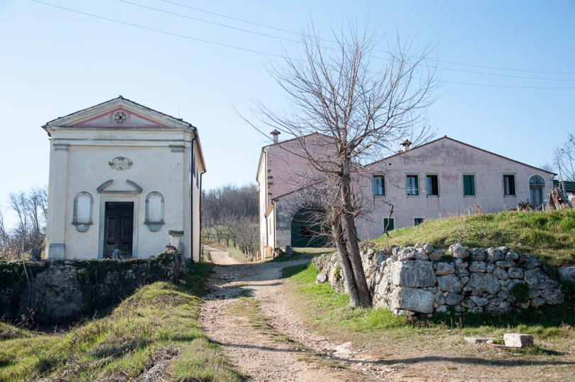 The 18th-century Villa Sermondi and the Oratorio - Colli Berici, Vicenza, Italy - www.rossiwrites.com