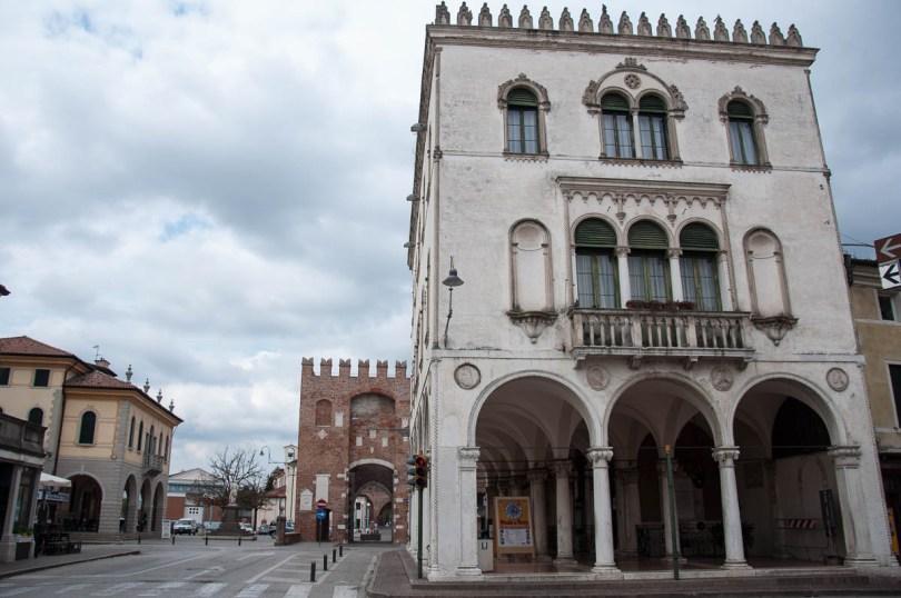 The 19-th century Palazzo della Loggia - Noale, Veneto, Italy - www.rossiwrites.com