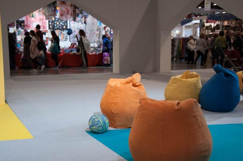 The creative spaces and the stalls - Abilmente Primavera 2017 - Vicenza, Italy - www.rossiwrites.com