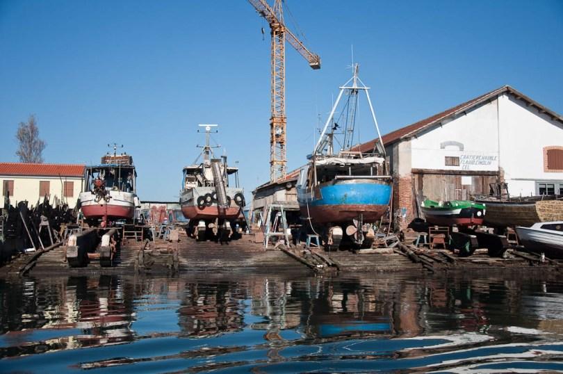 The dry dock - Chioggia, Veneto, Italy - www.rossiwrites.com