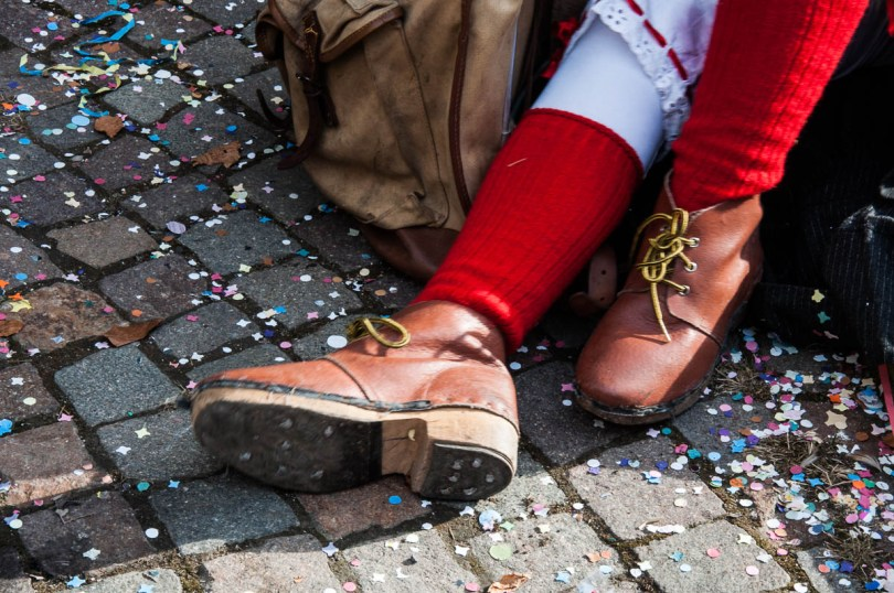 Traditional local shoes - Bagolino, Lombardy, Italy - www.rossiwrites.com