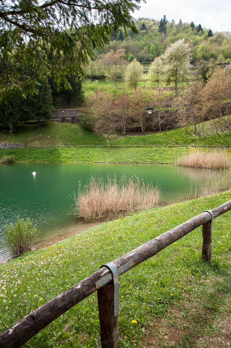 The lake - Laghi, Veneto, Italy - www.rossiwrites.com