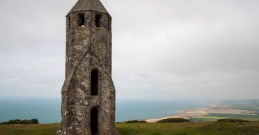 The Pepperpot - The medieval lighthouse at St. Catherine's Oratory - Chale, Isle of Wight - www.rossiwrites.com