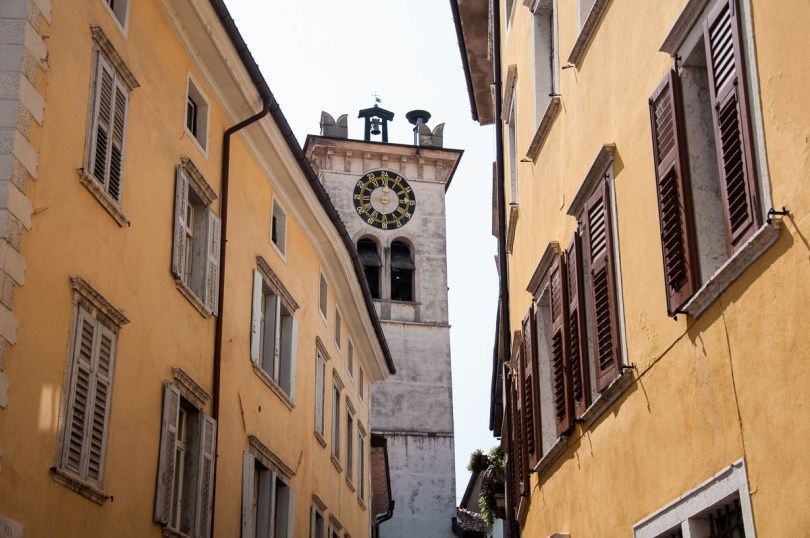 The clock tower - Rovereto, Trentino, Italy - www.rossiwrites.com
