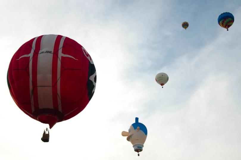 In free flight - Ferrara Balloons Festival 2016 - Italy - www.rossiwrites.com