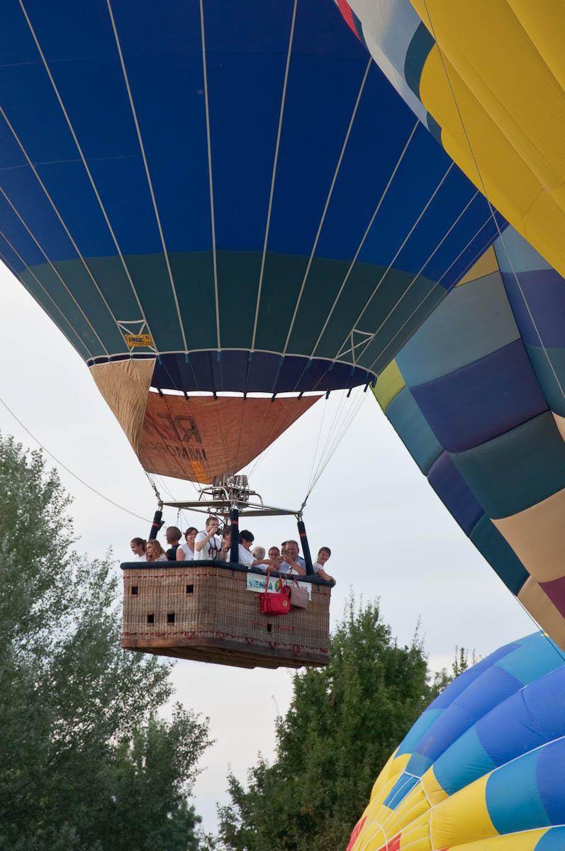 In free fligh -, Ferrara Balloons Festival 2016 - Italy - www.rossiwrites.com