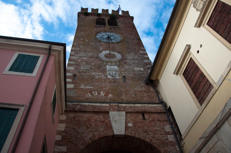 The Scaligeri tower - Cologna Veneta, Italy - www.rossiwrites.com