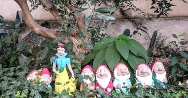 Snow White and the seven dwarfs - Arqua Petrarca, Veneto, Italy - www.rossiwrites.com