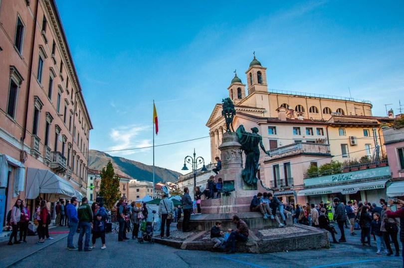 The main square - British Day Schio - Veneto, Italy - www.rossiwrites.com