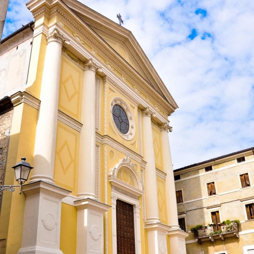 San Lorenzo Cathedral - Soave, Province of Verona, Veneto, Italy - www.rossiwrites.com