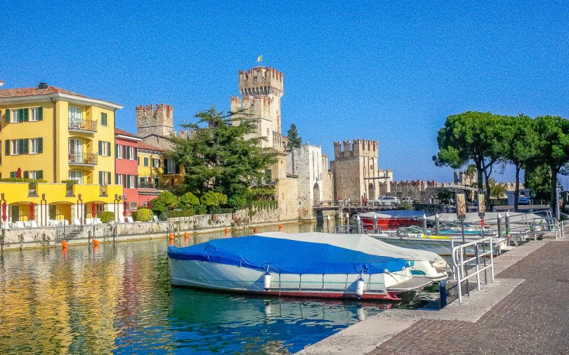 Scaliger Castle - Sirmione, Lombardy, Italy - www.rossiwrites.com