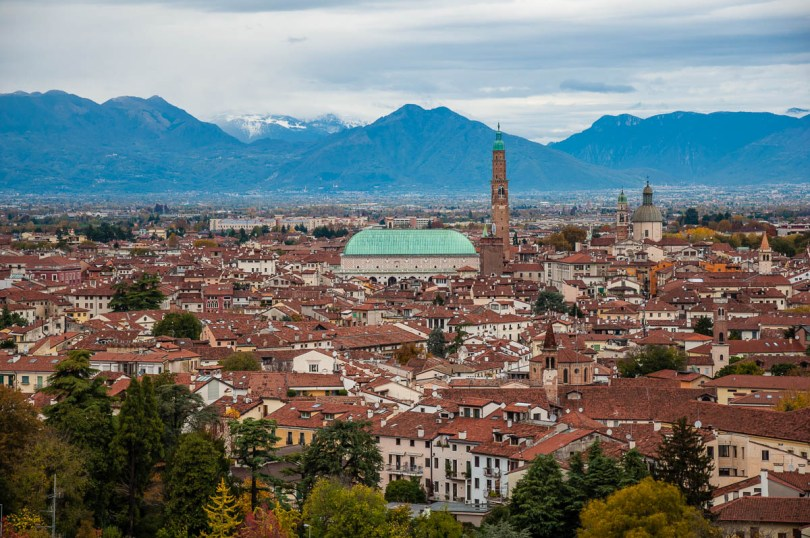 Vicenza after the rain - www.rossiwrites.com