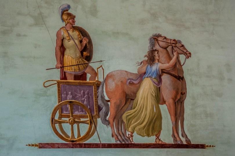 Fresco - Villa Pisani, Stra, Veneto, Italy - www.rossiwrites.com