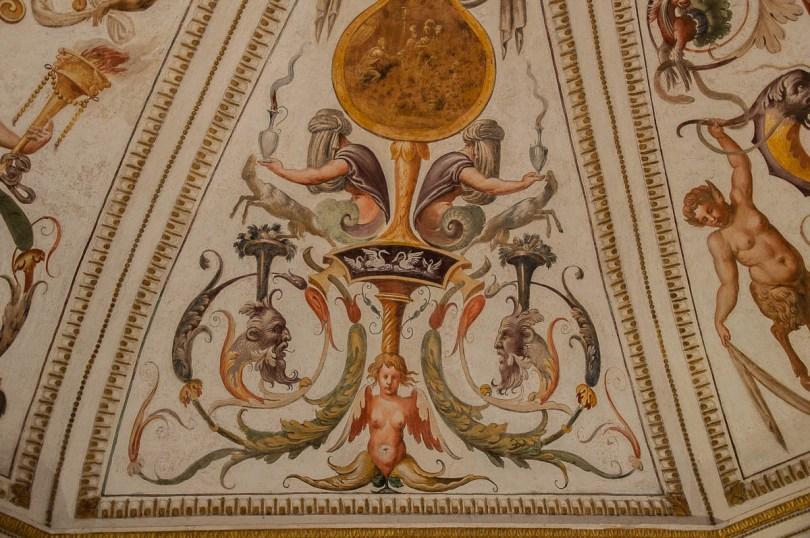 Frescoes - Cornaro Loggia and Odeon - Padua, Veneto, Italy - www.rossiwrites.com