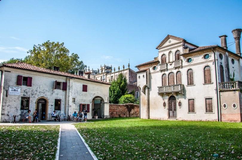 Museum Cafe - Villa Pisani, Stra, Veneto, Italy - www.rossiwrites.com