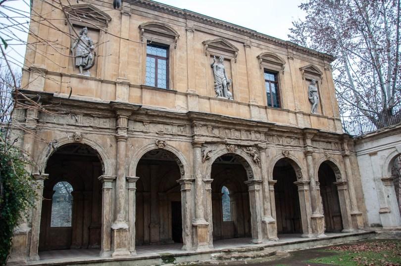 The Loggia's facade - Cornaro Loggia and Odeon - Padua, Veneto, Italy - www.rossiwrites.com