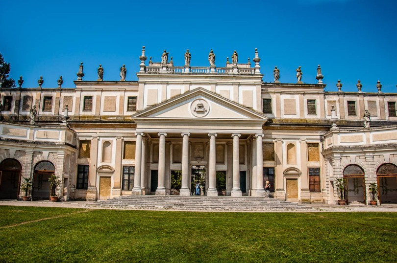The stables - Villa Pisani, Stra, Veneto, Italy - www.rossiwrites.com