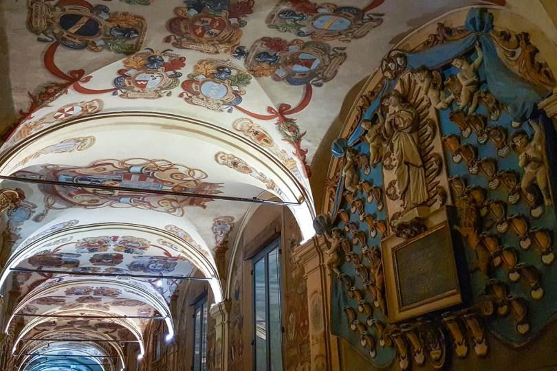 The Archiginnasio - Bologna, Emilia-Romagna, Italy - www.rossiwrites.com