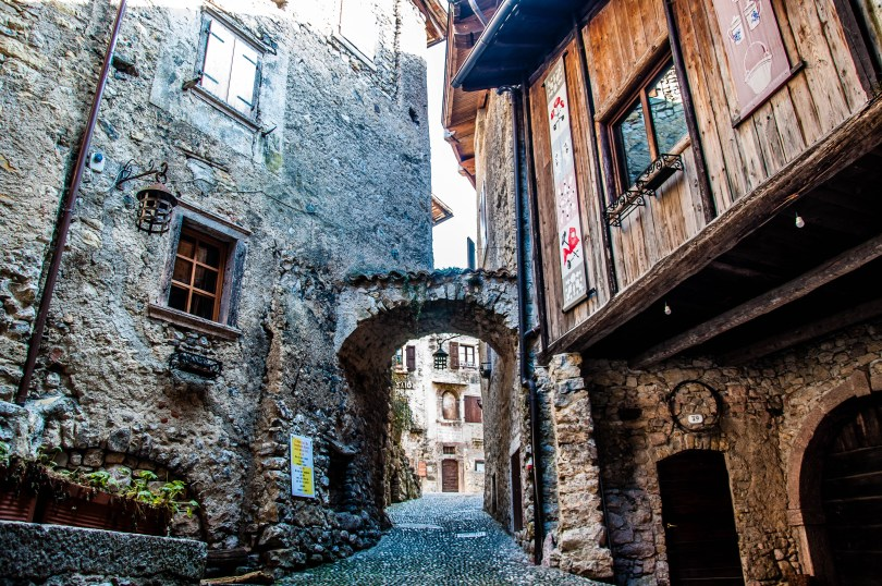 A view of Canale di Tenno - Trentino, Italy - www.rossiwrites.com