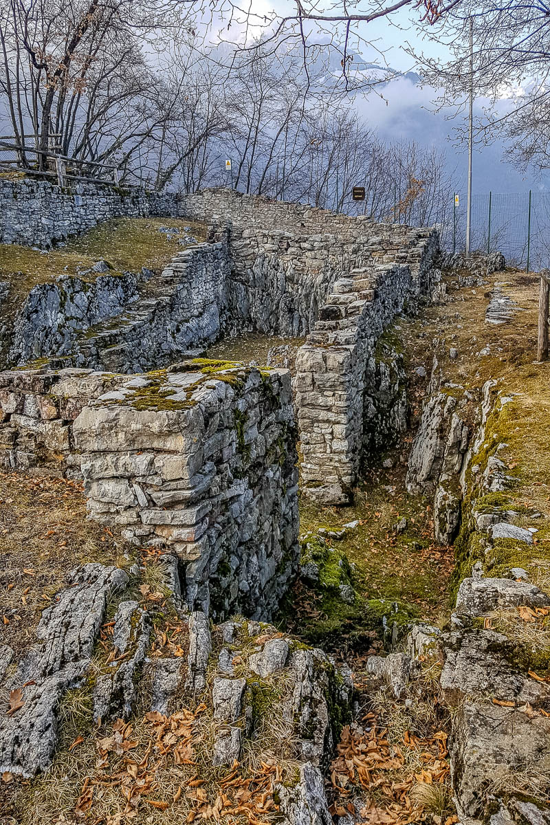 Archaeological site - Monte San Martino - Trentino, Italy - rossiwrites.com