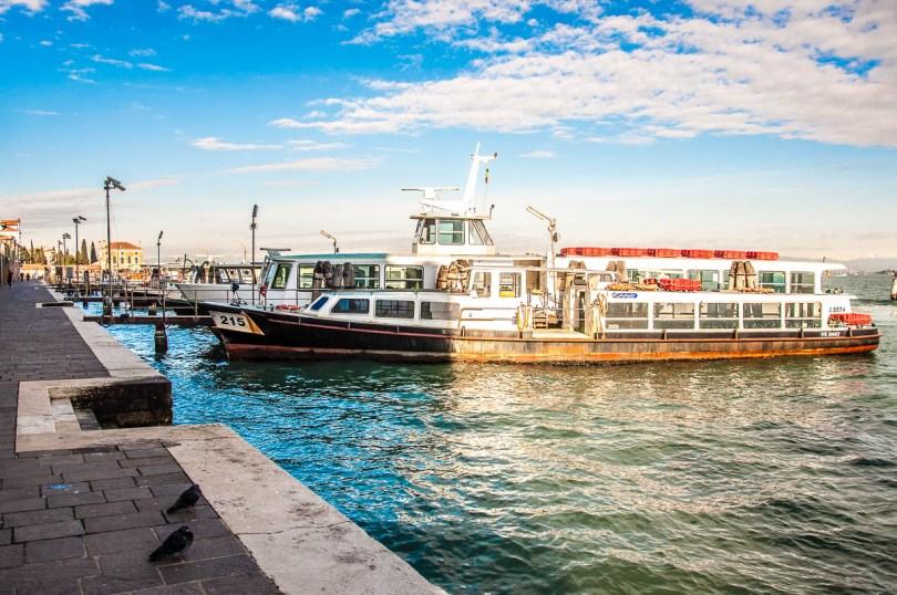 Vaporettos just off Fondamente Nove, Cannaregio - Venice, Veneto, Italy - www.rossiwrites.com