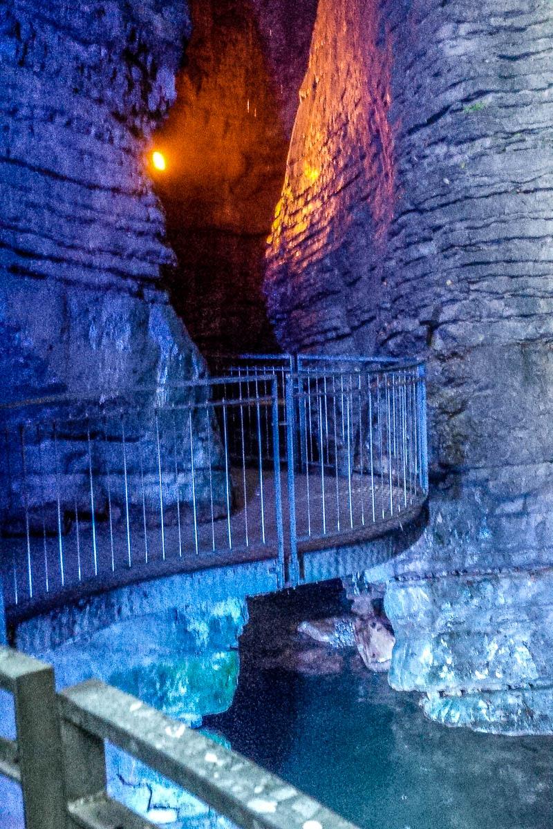 Inside Cascate del Varone - Riva del Garda, Trentino - www.rossiwrites.com