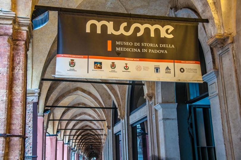 The entrance of the MUSME museum- Padua, Italy - rossiwrites.com