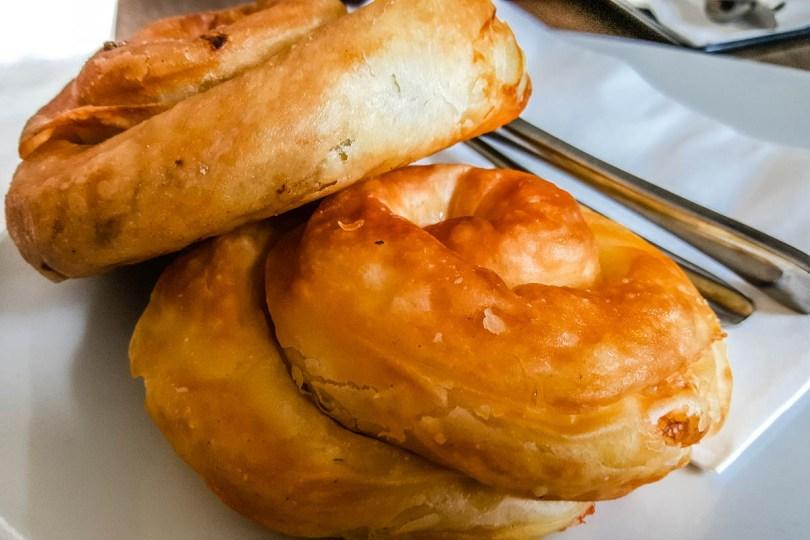 Burek - Filo Pastry and Brine Cheese Balkan Snack - Piran, Slovenia - www.rossiwrites.com