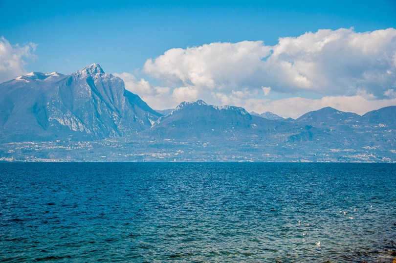 A blue view - Lake Garda, Italy - www.rossiwrites.com